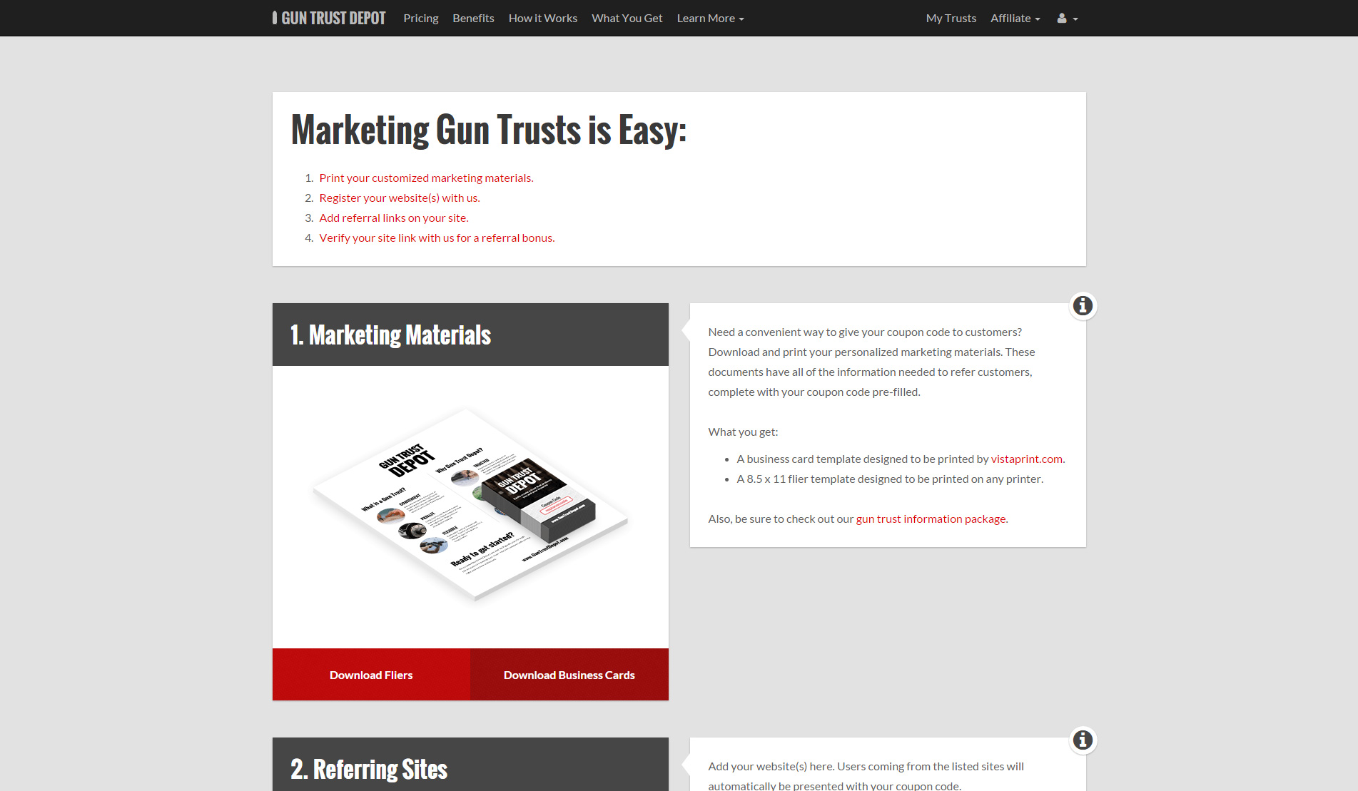 gun trust depot conglomo labs